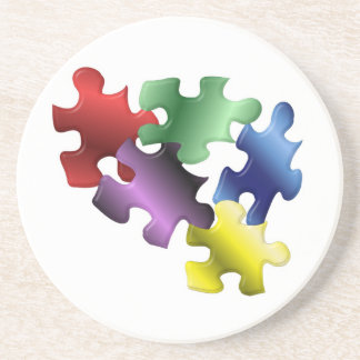 Autism Primary Drink Coaster
