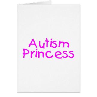 Autism Princess Greeting Card
