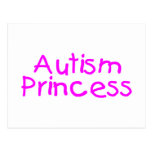 Autism Princess (Pink) Postcards