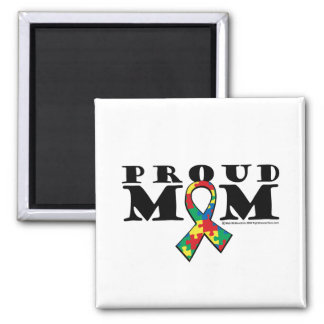Autism Proud Mom Magnets
