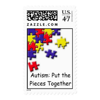 Autism: Put the Pieces Tog... Stamp