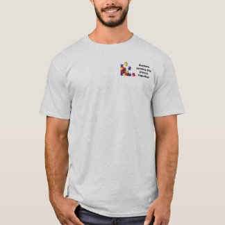 Autism: putting the pieces together T-Shirt