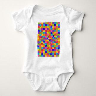 autism puzzle baby bodysuit