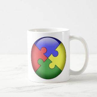Autism Puzzle Ball Coffee Mug