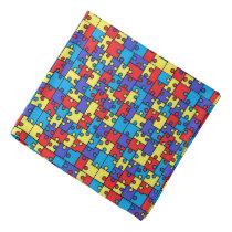 Autism Puzzle- Bandana