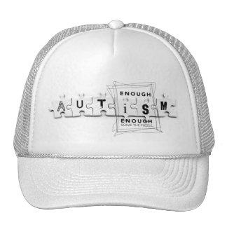 Autism Puzzle Cap Mesh Hat