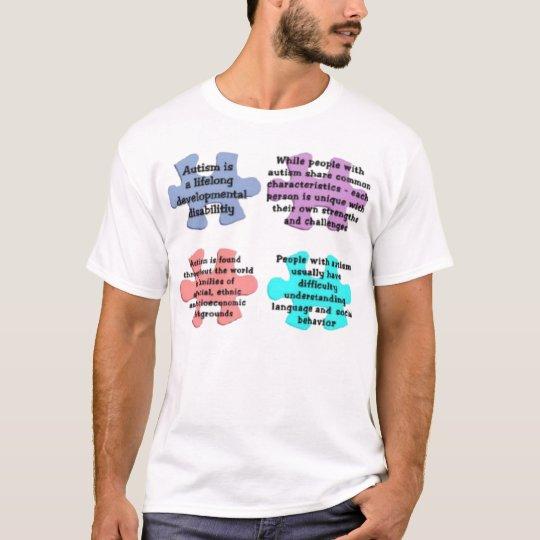 AUTISM PUZZLE EXPLAINATION T-Shirt