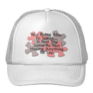 Autism Puzzle Hat