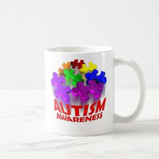 Autism Puzzle Jump! Coffee Mug