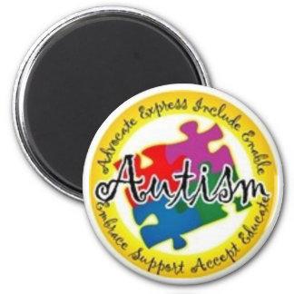 autism puzzle fridge magnets
