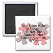 """Autism Puzzle"" Magnet"