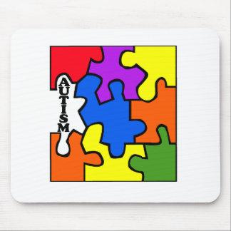 Autism (Puzzle) Mouse Pad