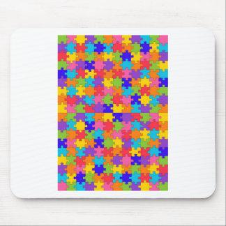 autism puzzle mouse pad