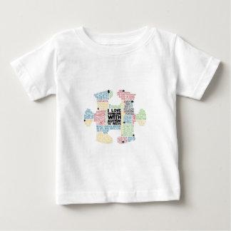 Autism Puzzle Piece - Autism Awareness Baby T-Shirt