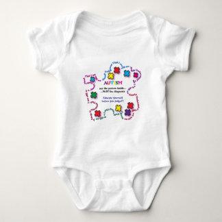 Autism Puzzle Piece Baby Bodysuit