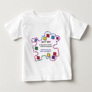 Autism Puzzle Piece Baby T-Shirt