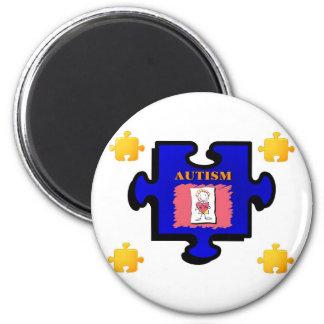 Autism Puzzle Piece Magnet