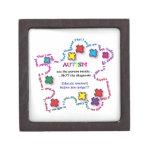 Autism Puzzle Piece Premium Jewelry Box