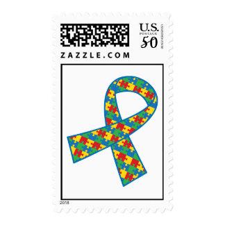 Autism Puzzle Piece Stamp