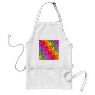 autism puzzle pieces 33 apron