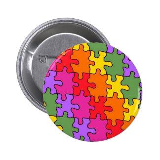autism puzzle pieces 33 button