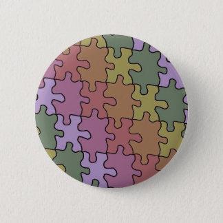 autism puzzle pieces 35 pinback button