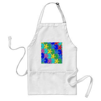 autism puzzle pieces 40 aprons