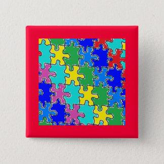 autism puzzle pieces 40 button
