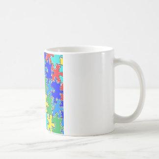 autism puzzle pieces 40 coffee mug