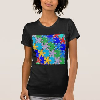 autism puzzle pieces 41 T-Shirt