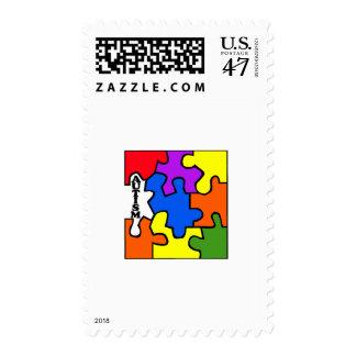 Autism (Puzzle) Postage