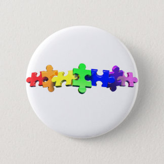 Autism Puzzle Strip Button