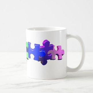 Autism Puzzle Strip Coffee Mug