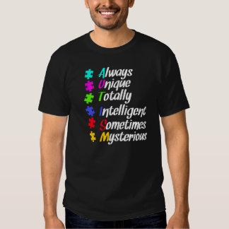 Autism puzzle t shirt