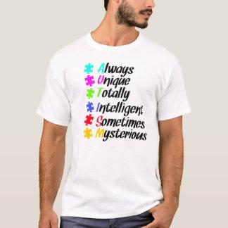 autism puzzle. T-Shirt
