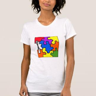 Autism Puzzle T Shirts