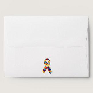Autism Puzzles Envelope
