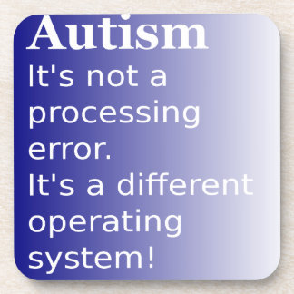 Autism Quote Drink Coaster
