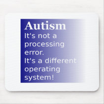 Autism Quote Mouse Pad