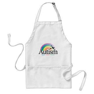 Autism Rainbow Adult Apron