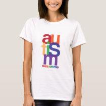 Autism Rainbow Awareness T-Shirt