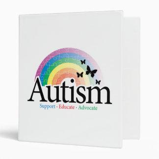 Autism Rainbow Binder