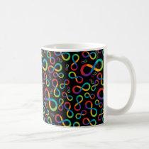 Autism Rainbow Infinity Neurodiversity Coffee Mug
