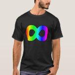 autism rainbow infinity T-Shirt