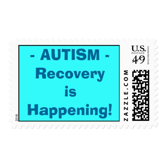 AUTISM ... Recovery is Happening! Stamp