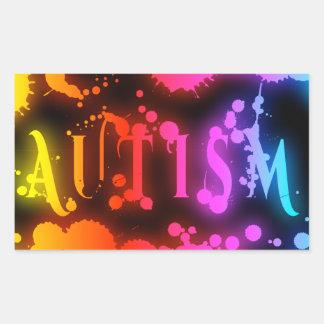 Autism Rectangle Stickers