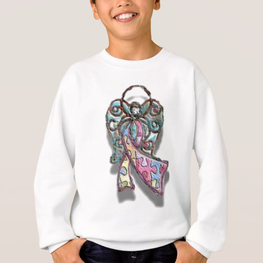 Autism Ribbon Angel Sweatshirt