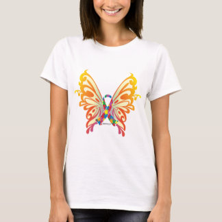 Autism Ribbon Butterfly T-Shirt