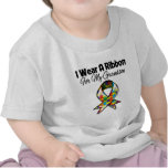 Autism Ribbon For My Grandson T Shirts