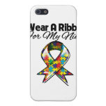 Autism Ribbon For My Niece Case For iPhone 5
